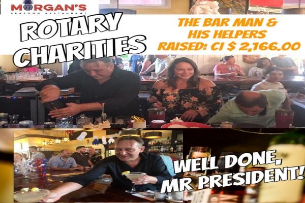 Rotary Cayman Charity: THE BAR MAN._Photo9